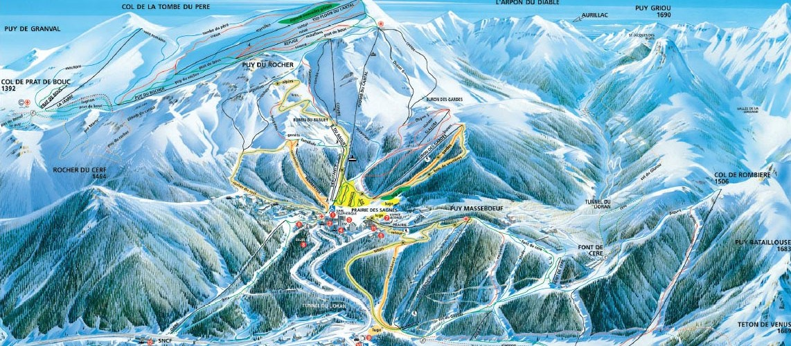 Location ski Le Lioran